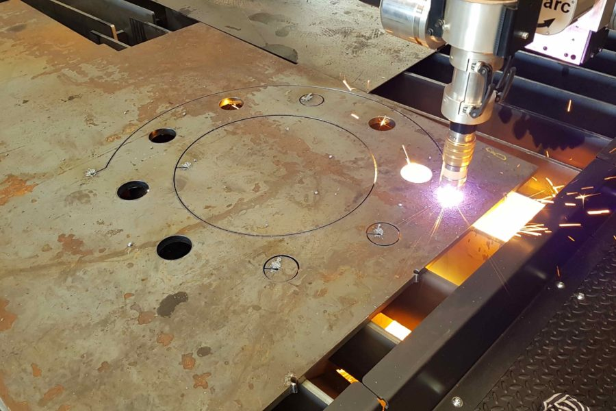 New high definition plasma cutting center